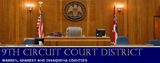 Mississippi 9th Circuit Court: JURY DUTY